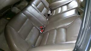 92 94 Acura Vigor Leather Rear Seat Assembly Brown Type D Oem Used