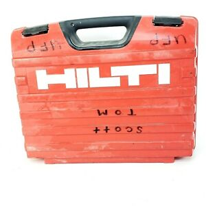 Hilti Te 6 s Electric Rotary Hammer Drill Hard Plastic Storage Box Case Only