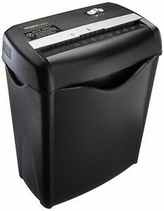Commercial Home Shredder Paper Office Heavy duty Manual Crosscut Cd Credit Card