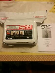 Scape Co cbrn30 Emergency Escape Hood 6000 11300 Brand New See Photos