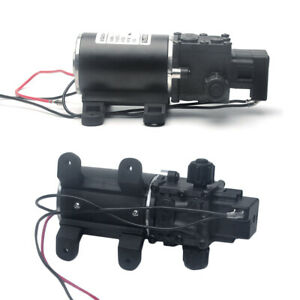 100w Dc12v Water Pump High Pressure 8lpm Self priming For Caravan Camping Boat