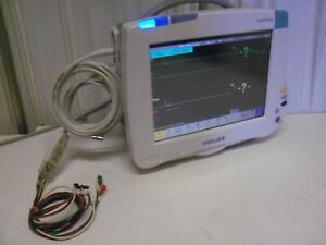 Philips Intellivue Mp50 M8004a Patient Monitor W M3001a Module Ac1c06