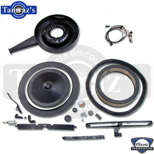 1969 69 Camaro Cowl Induction Air Cleaner Set Up For 396 Models
