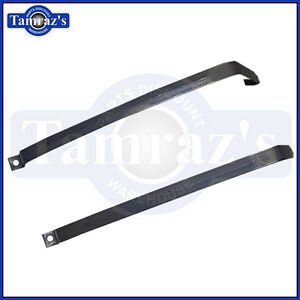 1962 1963 1964 1965 1966 1967 Chevy Ii Nova Fuel Gas Tank Straps Pair