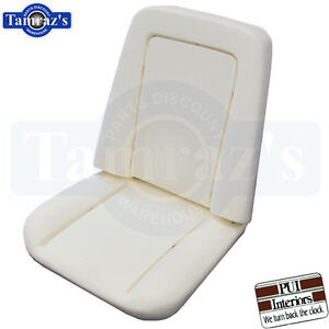 1971 1975 Chevy Pickup Truck Front Bucket Seat Bun Foam Cushion Each Pui New