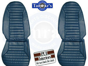 1971 1975 Firebird Front Seat Upholstery Covers Standard Interior Pui New