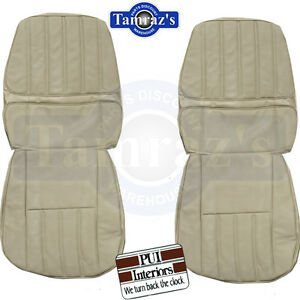 1970 Camaro Deluxe Front Rear Seat Upholstery Covers Pui