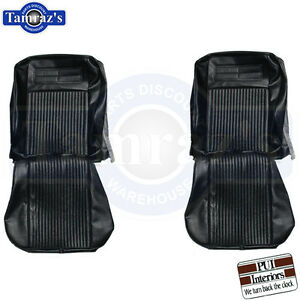 63 64 Chevy Ii Nova Ss Front Bucket Rear Seat Covers Upholstery Pui New