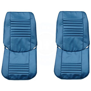 1967 Chevelle Malibu Front Rear Seat Upholstery Covers Colors Pui New