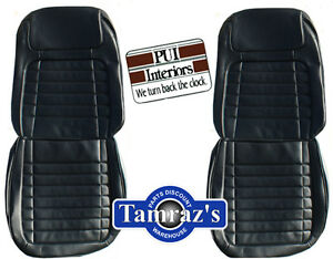 1968 Camaro Deluxe Front Seat Upholstery Covers Pui New