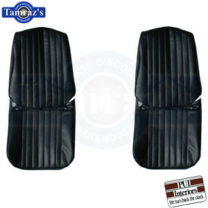 1967 Grand Prix Front Seat Covers Upholstery New Pui