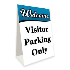 Visitor Parking Only Economy A frame Sign