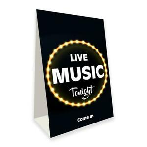 Live Music Tonight Economy A frame Sign