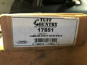 Tuff Country U Bolts 17851 88 98 Chevy 1500 Lifted 3 Blocks