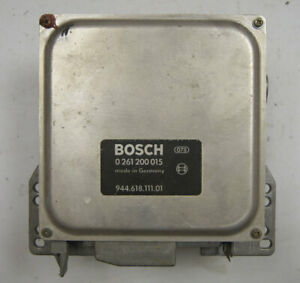 1983 1985 Porsche 944 Ecu Computer Bosch Used Working 0261200015 94461811101