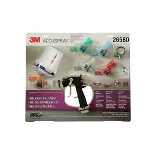 3m 26580 Accuspray One Spray Gun Kit