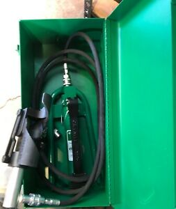 Greenlee Hydraulic Cable Bender Brand New Condition