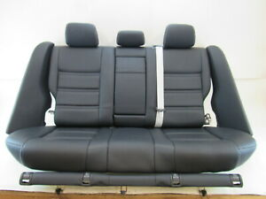 15 Mercedes W212 E63 Seats Rear Amg Black