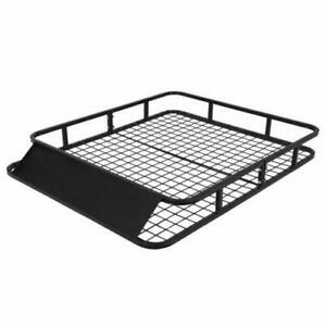 Universal Roof Rack Basket Car Suv Van Luggage Carrier Cargo Holder Travel 48