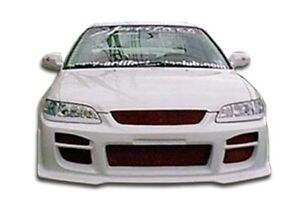 Duraflex R34 Front Bumper Cover 1 Piece For 1998 2002 Accord 2dr
