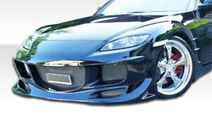 Duraflex R speed Front Bumper Cover 1 Piece For 2004 2008 Rx 8