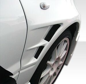 Duraflex C speed Fenders 2 Piece For 2003 2006 Lancer Evolution 8 9
