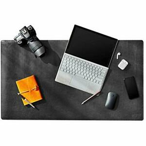 Leather Mouse Pads Desk Mat Protector Blotter Extended Keyboard Writing 26