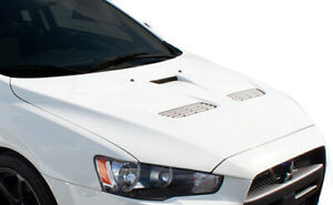 Duraflex Evo X Look Hood For 2008 2017 Lancer Lancer Evolution 10