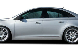 For 2011 2015 Chevrolet Cruze Couture Rs Look Side Skirts Rocker Panels 2 Piec