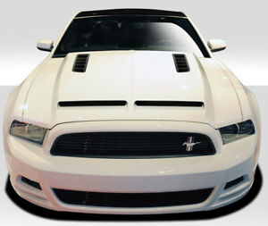 For 2013 2014 Ford Mustang 2010 2014 Mustang Gt500 Duraflex Gt500 Hood I Pie