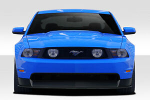 Duraflex R500 Front Lip Under Air Dam Spoiler 2pc For 2010 2012 Mustang Gt