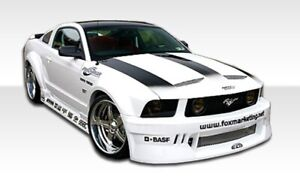Duraflex Circuit Wide Body Kit 8 Piece For 2005 2009 Mustang