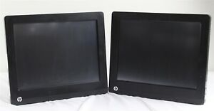 Lot Of 2 Hp Rp7 7800 Pos Retail System Touch 15 Pentium G850 2 9ghz 2gb Ram