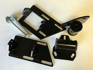 S10 S15 Blazer Chevy Motor Mount Kit Block And Solid Frame Mounts Two Wheel Dr