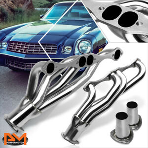 For Chevy Sbc Small Block A f g Body V8 Stainless Steel Clipster Exhaust Header