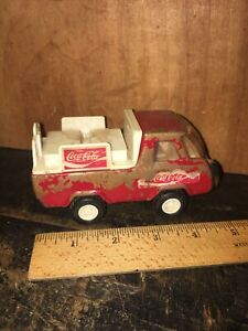Vintage Buddy L Coca-Cola Truck Made In Japan.