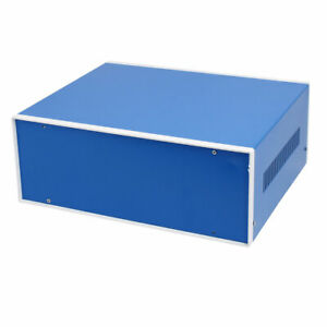 320mmx270mmx120mm Rectangle Project Enclosure Case Electric Junction Box Blue
