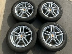 2017 Factory Porsche Cayenne Turbo 19 Wheels Tires Rims Oem 7p5601025ad