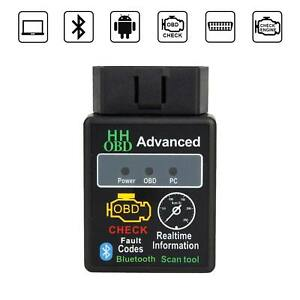 Elm327 Hh Obd2 Bluetooth Car Scanner Android Torque Auto Diagnostic Tool