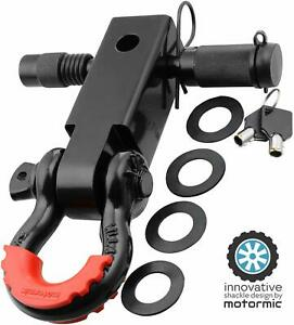 Motormic Shackle Hitch Receiver Trailer Lock Pin 3 4 D Shackle Jeep Towing