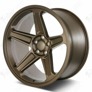 20x9 5 20x10 5 Flow Forged Bronze Demon Style Wheels Set Fit Charger Challenger