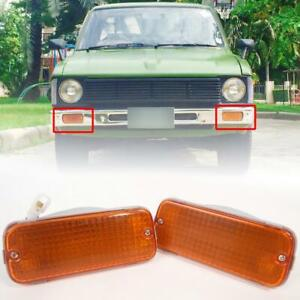 Front Bumper Turn Signal Light For Toyota Hilux Rn30 Rn35 Ln30 Pickup 79 83