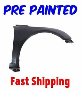New Pre Painted Passenger Rh Fender For 2011 2016 Chevy Cruze W Free Touchup