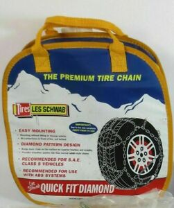 New 2319 Les Schwab and Alpine Sport Tire Snow Chains fast Shipping