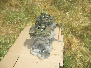 Edelbrock Tr1y Chevy 350 Sbc Tunnel Ram Intake Manifold 2x4 Holley Carbs