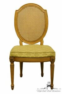 Thomasville Furniture Belvedere Collection Italian Provincial Cane Back Dinin
