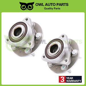 2 Front Lh Rh Wheel Bearing Hub Assembly For 2011 2012 2015 Chevy Cruze 513315