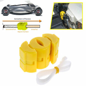 2x Magnetic Gas Fuel Saver For Car Motorcycles Truck Reduce Emission Universal