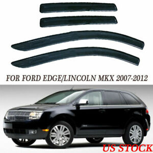 Fit Ford Edge Lincoln Mkx 2007 12 Window Visor Guard Vent Interior Protect Yb01
