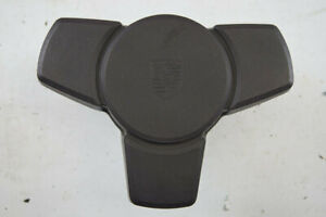 1983 1987 Porsche 944 Steering Wheel Center Section Brown Good Condition Used